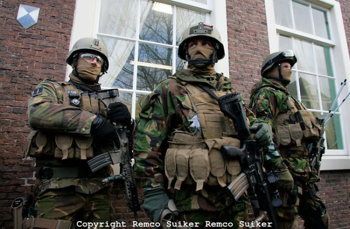 Как выглядит спецназ в разных странах (ФОТО)
