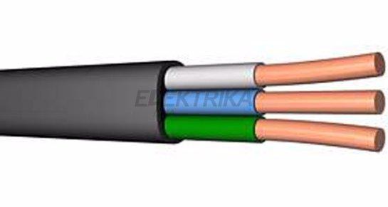Силовые плоские кабели для проводки, не поддерживающие горение разных классов