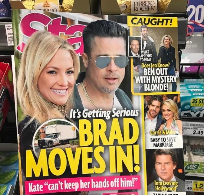 Кейт Хадсон хочет родить ребенка Брэду Питту