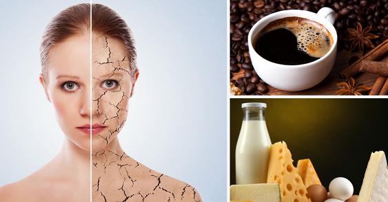 Названы продукты, ускоряющие старение кожи