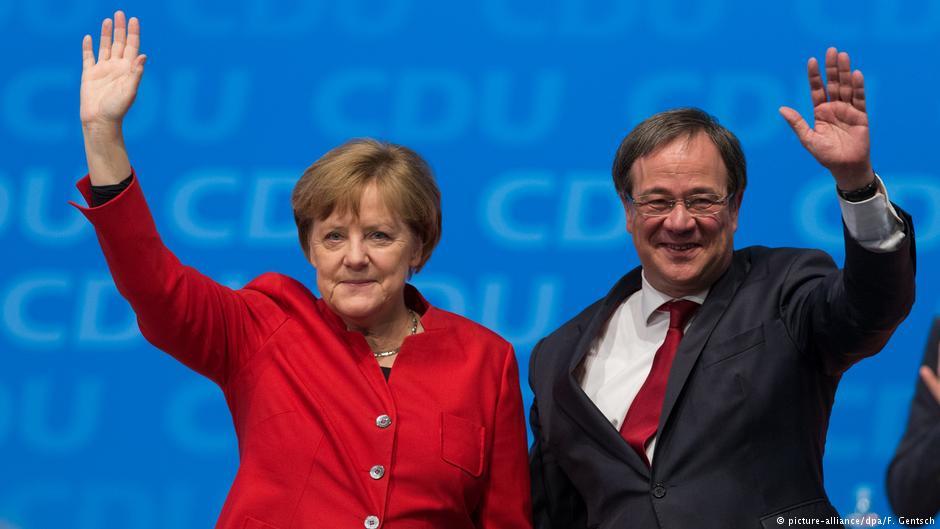 В Германии на региональных выборах побеждает партия Меркель