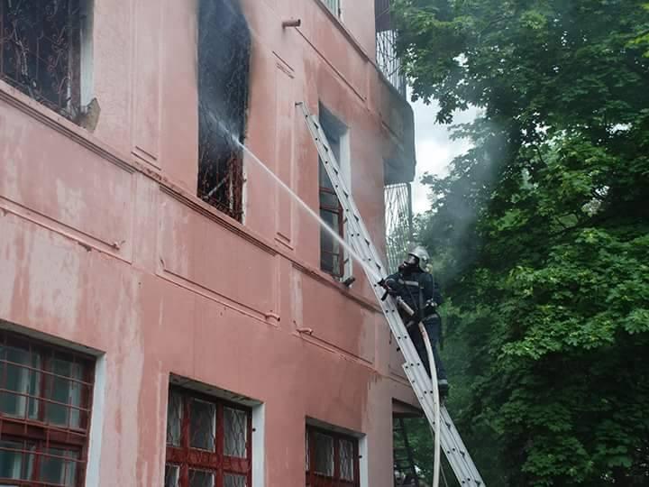 В Николаевской области горела психбольница