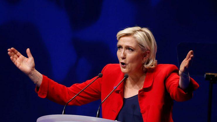 Ле Пен признала свое поражение на выборах