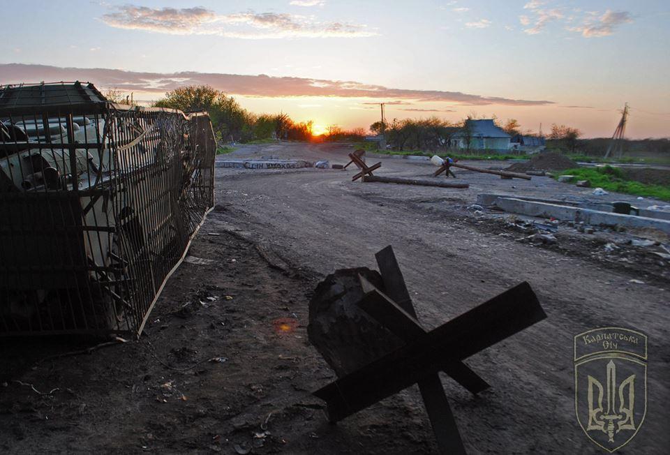 В штабе АТО опровергли свое заявление о том, что боевики захватили часть «серой зоны»