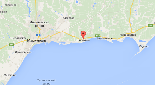 В Широкино и Крымском боевики применили 122-мм артиллерию, — штаб