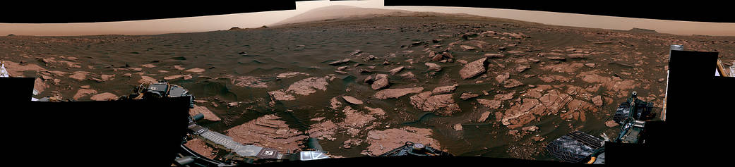 NASA опубликовало панорамный снимок дюн на Марсе