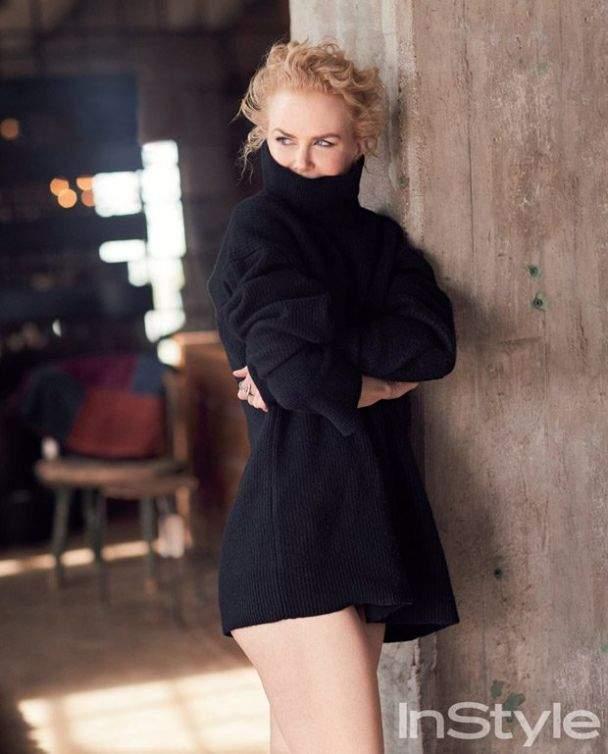 Николь Кидман похвасталась стройными длинными ногами