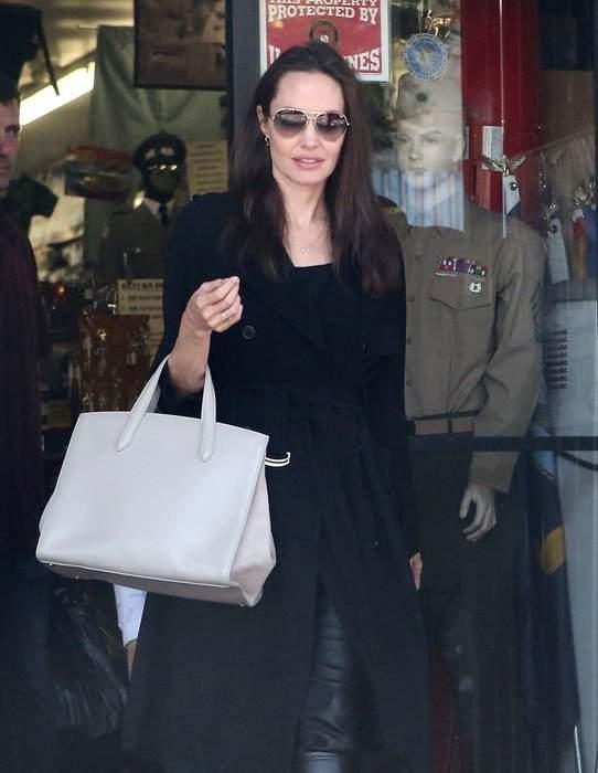 Анджелина Джоли удивила поклонников мрачным образом