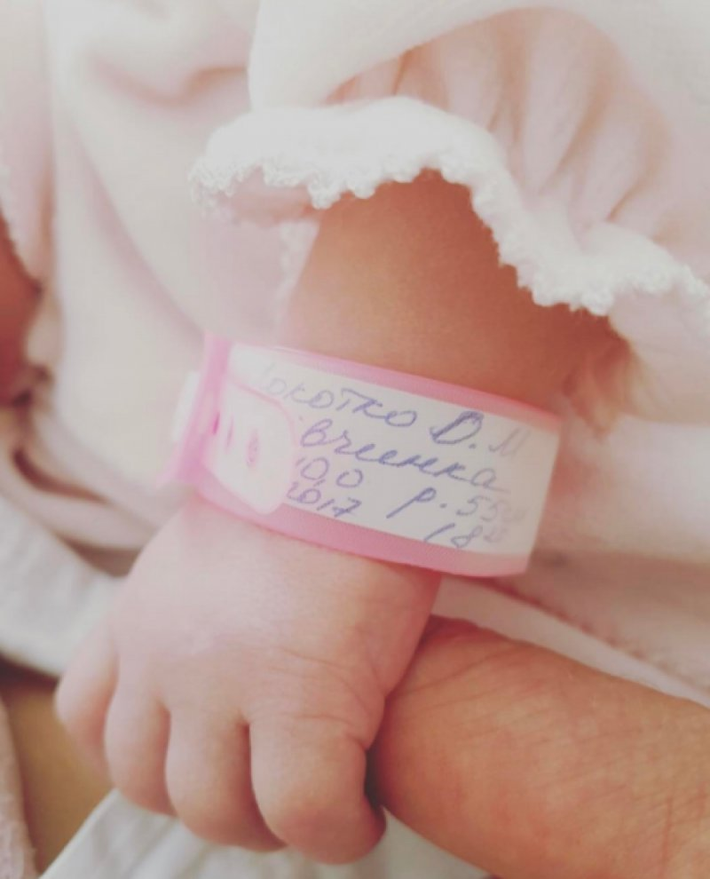Ольга Фреймут поделилась первым фото новорожденной дочери