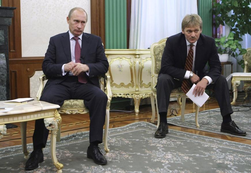 Песков рассказал об отдельной папочке с выпадами в адрес Путина
