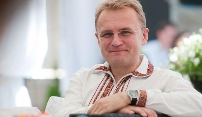 Мэр Львова Садовый призвал граждан города выйти навече