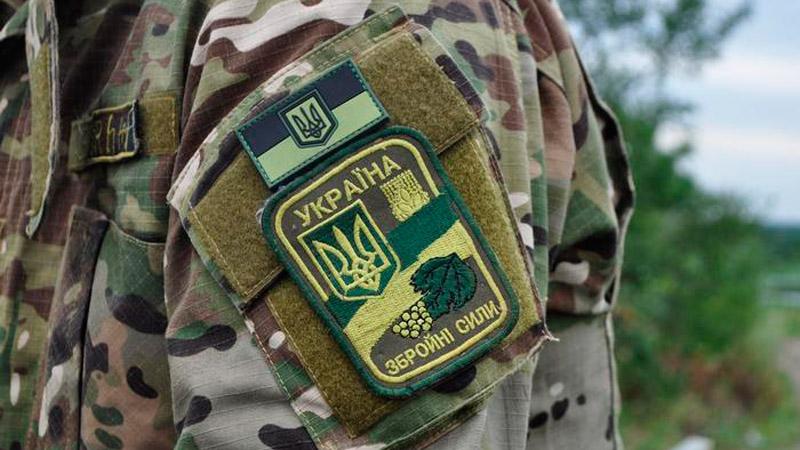 В зоне АТО погиб украинский военный, – штаб