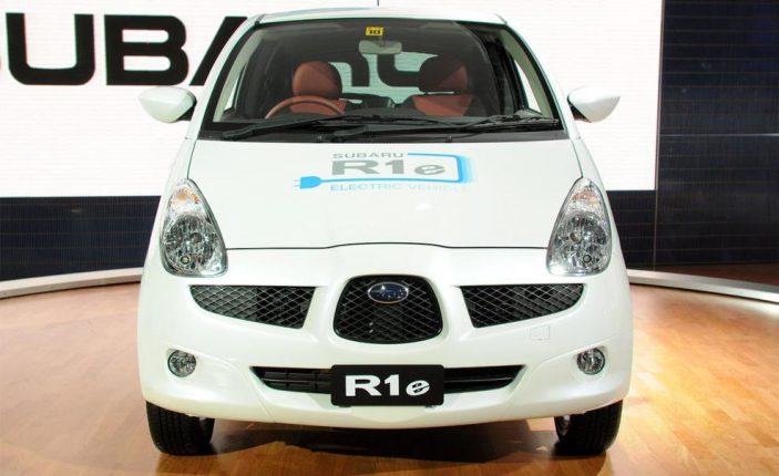 Subaru начнет производить электрокары и гибридные модули