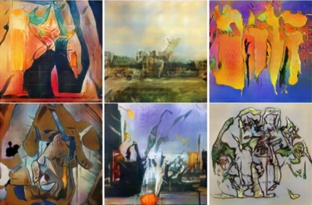 Нейросеть научили создавать оригинальные произведения искусства: Фото