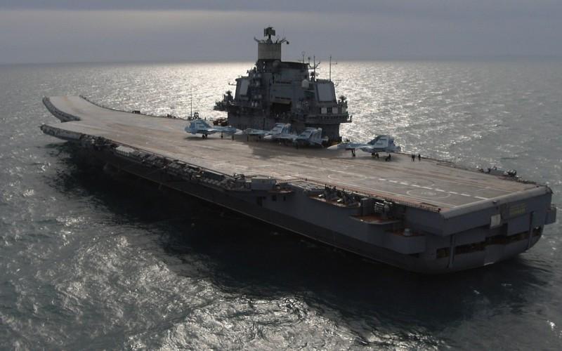 В России начнут строить шесть новых авианосцев