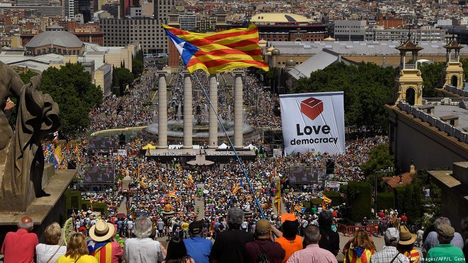 Каталония готова немедленно выйти из Испании после референдума