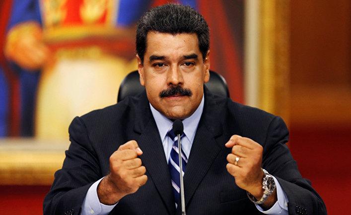 США ввели санкции против президента Венесуэлы Мадуро