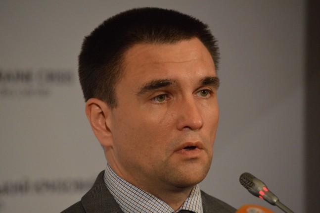 Климкин: Биометрический контроль не создаст неудобств для европейцев