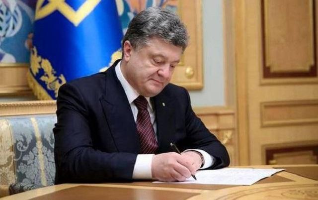 Порошенко подписал закон, который обязывает ставить счетчики