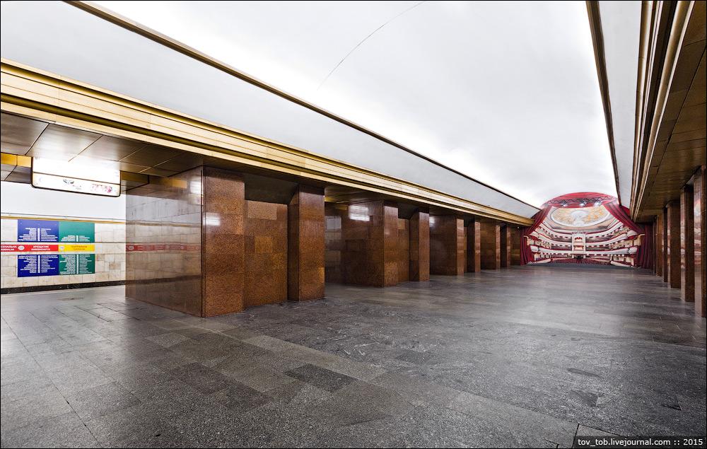 Станцию метро «Театральная» вКиеве закрыли из-за сообщения оминировании