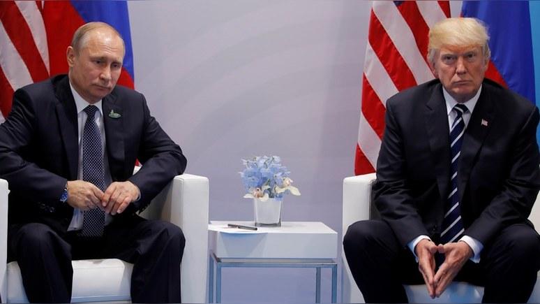 Язык жестов выдал неуверенность Путина на переговорах с Трампом, — BBC