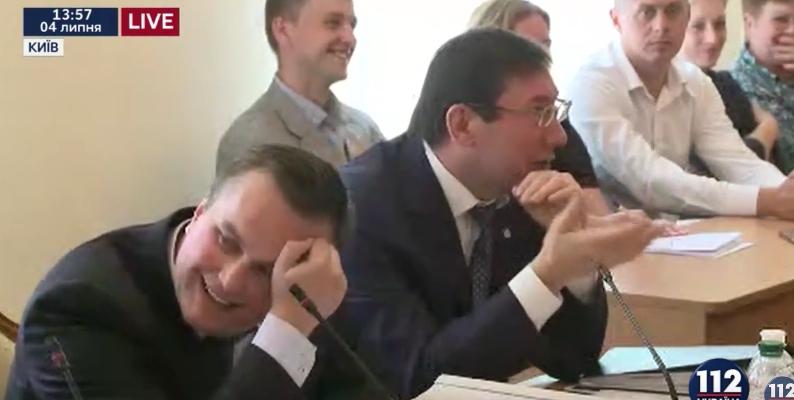 Луценко надеется, что Рада рассмотрит все шесть представлений ГПУ 13июля
