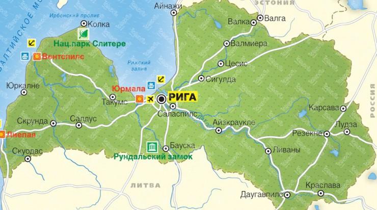 К границам Латвии приблизился российский военный самолет