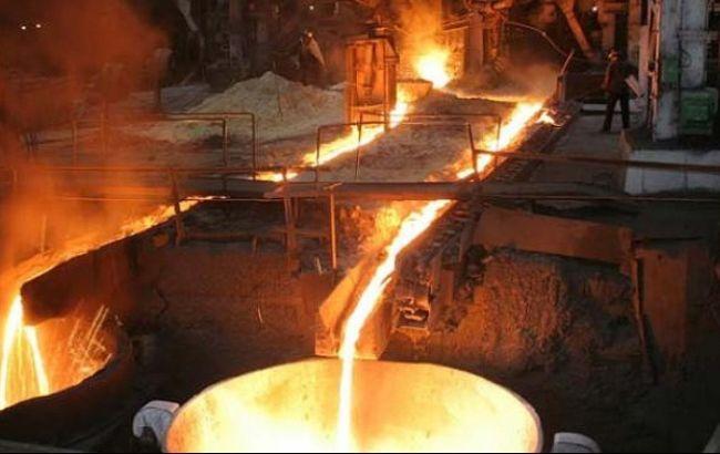 В Украине резко упало производство стали