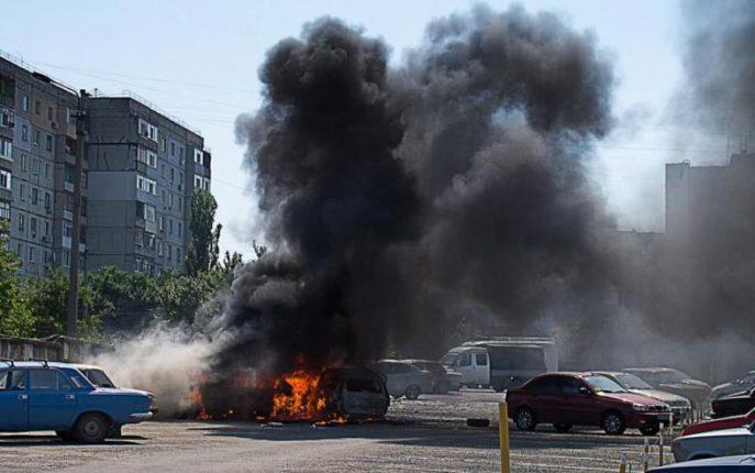 В СЦКК рассказали о взрывах в оккупированном Луганске