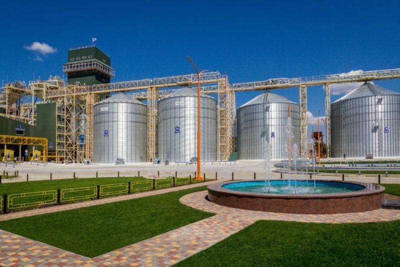 В Украине открывают новый зерновой терминал