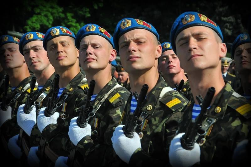 Как в Украине отмечают День ВДВ
