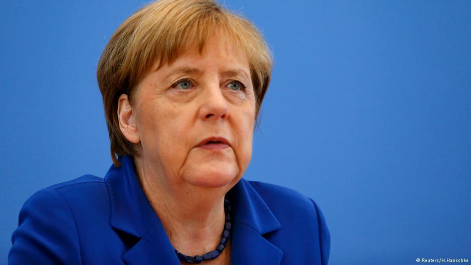 Ангела Меркель заявил о победе на выборах в бундестаг