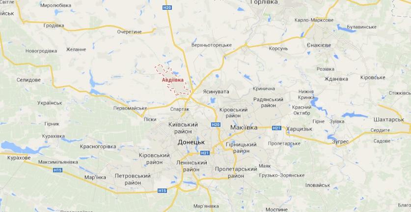 При обстреле Авдеевской промзоны погиб украинский военный