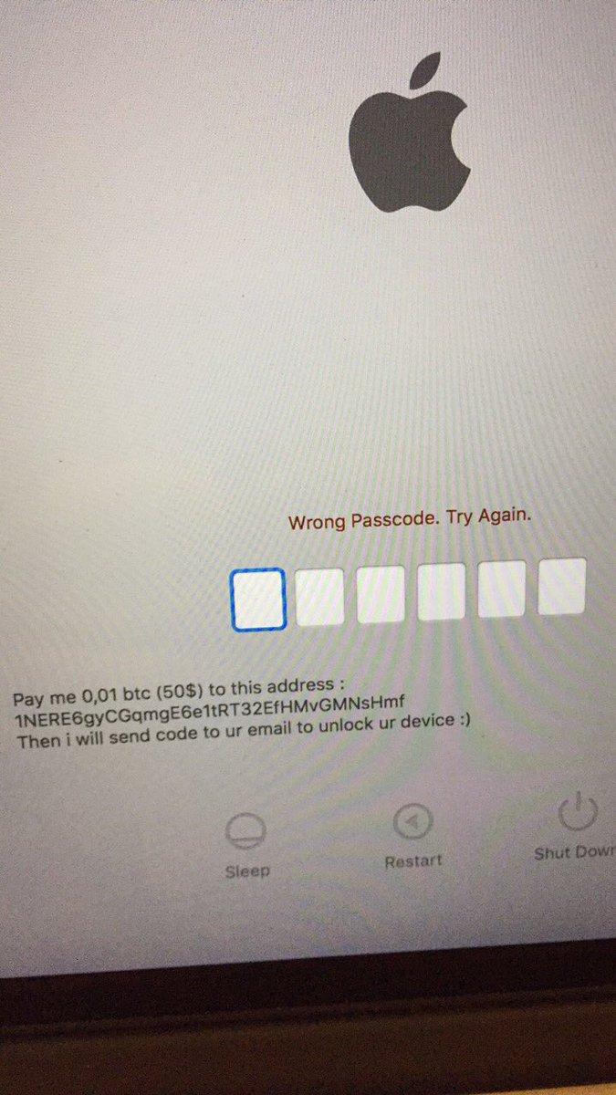Хакеры нашли возможность удаленной блокировки iPhone