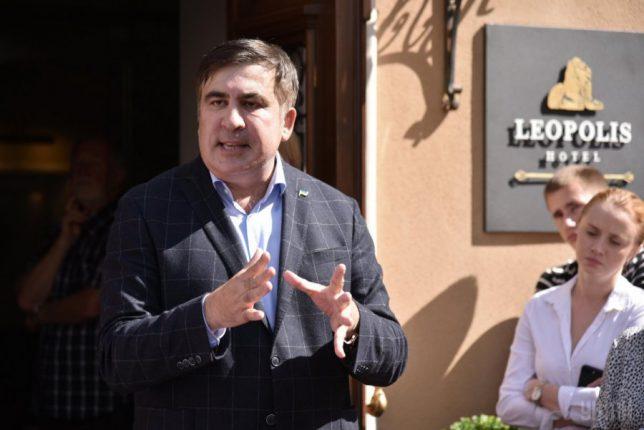 Саакашвили сказал, какие украинские города еще намерен посетить