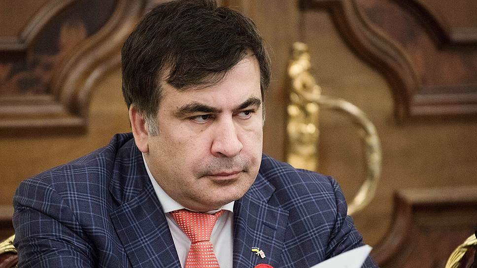 Кортеж Саакашвили остановила полиция