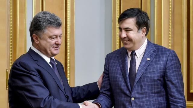 Юрий Романенко: Прорыв Саакашвили и реальная игра Порошенко