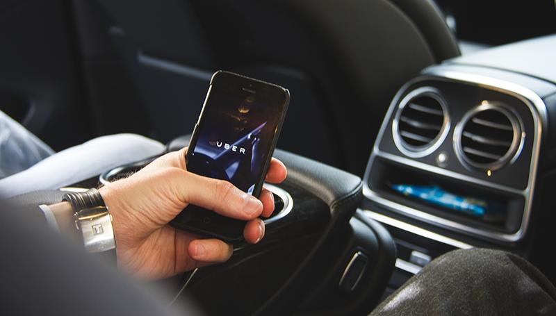 Uber поднял тарифы в Киеве