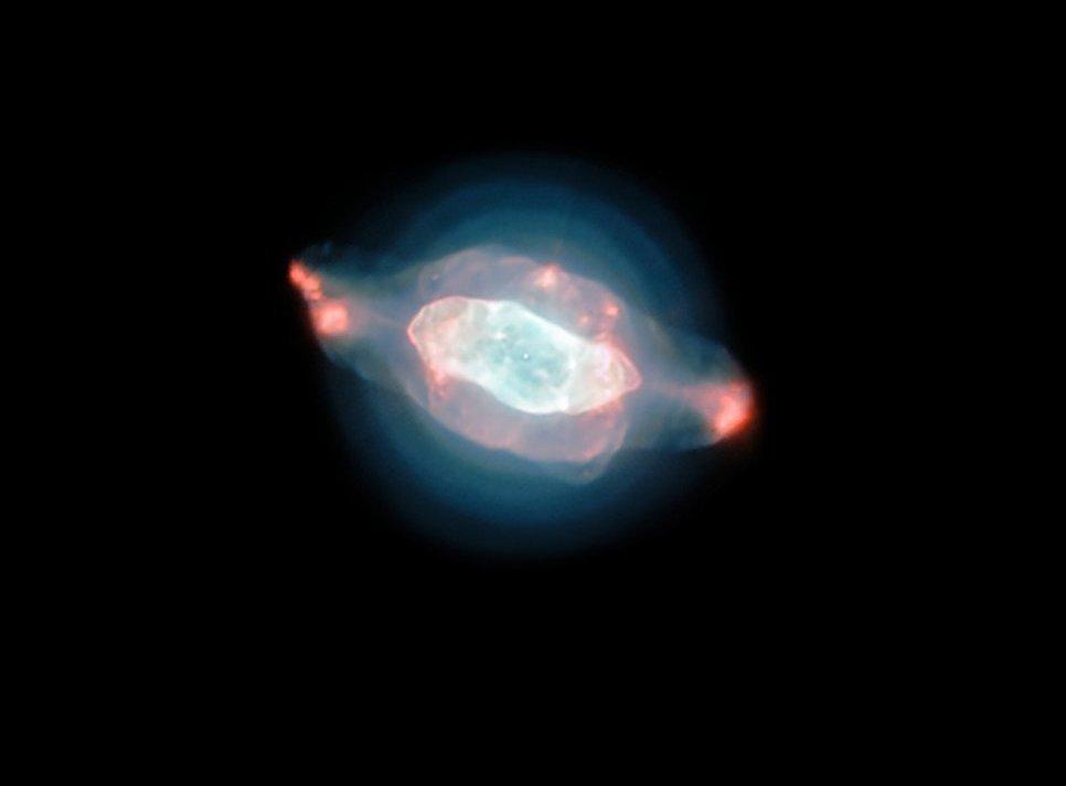 Астрономы получили фотографии космического «глаза Сатурна»