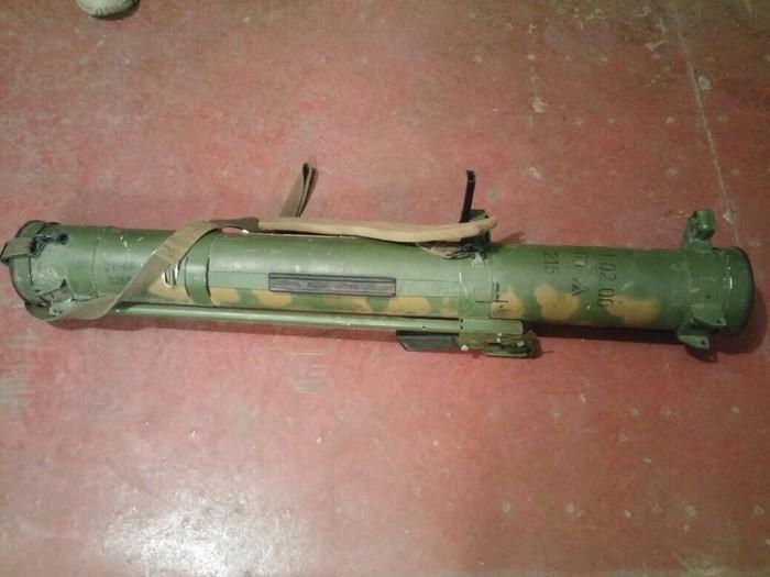 В зоне АТО обнаружили огнеметы производства РФ