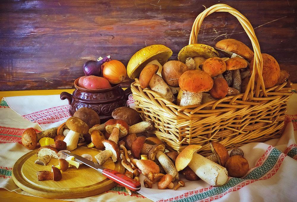В Киеве за сутки 6 человек отравились грибами