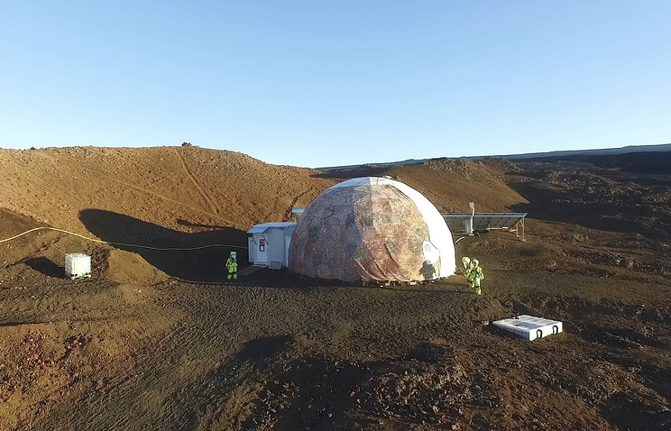 В США завершился эксперимент по имитации полета на Марс