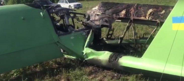 В полиции рассказали подробности крушения самолета под Харьковом