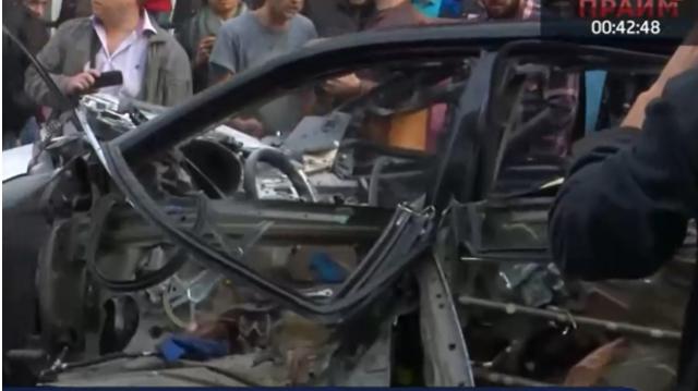 Потерпевшей во взрыве авто в центре Киева могла быть известная модель