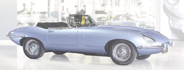 Jaguar представила новый электрокар в стиле 60-х