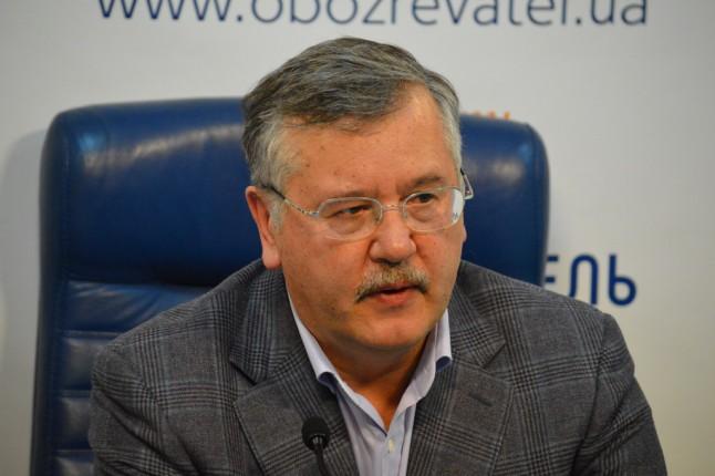 В законопроекте о реинтеграции Донбасса содержится особый статус Донбасса, — Гриценко