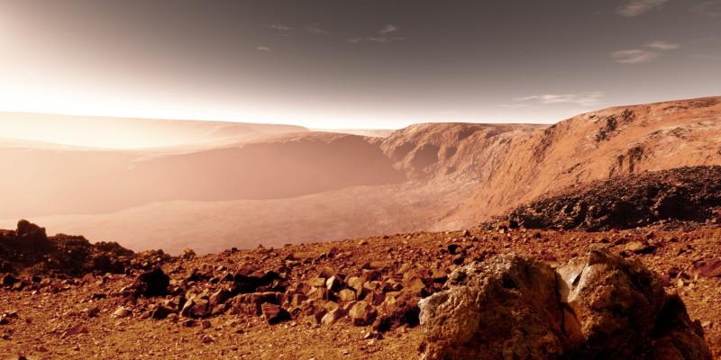 Колонизации Марса могут помешать микробы