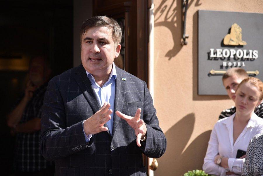 Саакашвили назвал фамилии «друзей Порошенко», которых он должен посадить в тюрьму