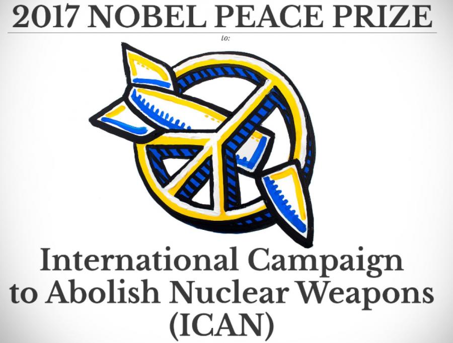 Нобелевская премия мира досталась кампании за отказ от ядерного оружия