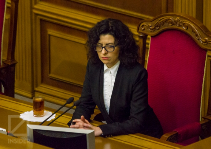 Сыроид озвучила предложения к закону Порошенко о деоккупации